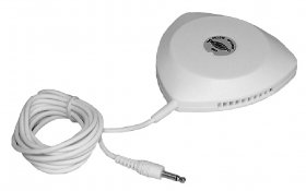 "2.5"" Deluxe Pillow Speaker With 6' Lead (3.5mm) 1/8"" Mono Plug"