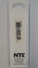 20 Ohm, 1/8W, 2% Metal Film Flameproof Resistor (6Pk)