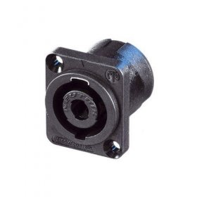 Neutrik NL4MP, 4 Pole speakON Chassis Connector, D-Size Flange