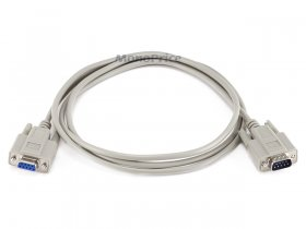 6Ft Null Modem DB9 M/F Molded Cable