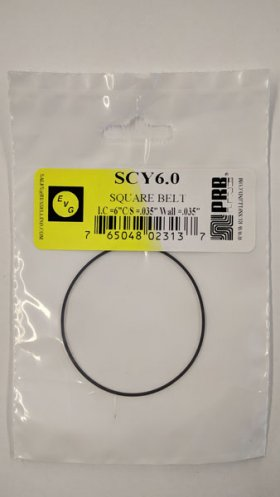 "SCY6.0 Square Belt 6.0"" IC, .035"" CS, .035"" Wall Thickness"