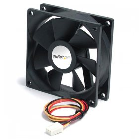 60x20mm Replacement Ball Bearing Computer Case Fan w/ TX3