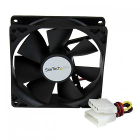 92x25mm Dual Ball Bearing Computer Case Fan w/ LP4 Connector