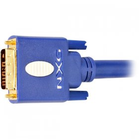 3.3Ft 1-Meter DVI-D Cable - Blue
