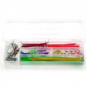 140 Piece Pre-Formed Jumper Wire Set With Case