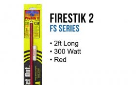 FirestikII 2Ft Tunable Tip CB Antenna (Red)