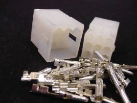 "9 Pin Male/Female Pair 0.093"" Pins 12A Mated Housings (Molex)"