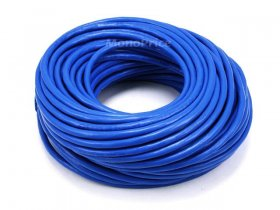 100Ft Cat6A 500MHz 24Awg Shielded Ethernet Network Cable (Blue)
