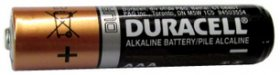 AAA 1.5V Duracell Coppertop (4Pk) Alkaline-Manganese Dioxide