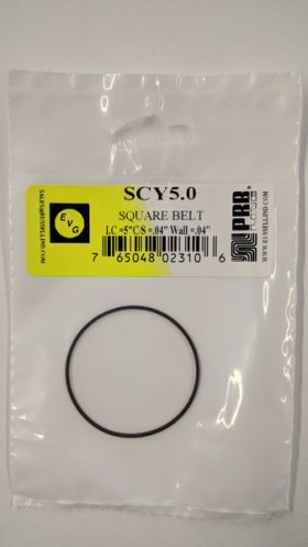 "SCY5.0 Square Belt 5.0"" IC, .04"" CS, .04"" Wall Thickness"