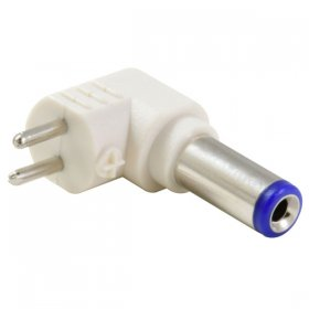 2.1/5.5mm Right Angle Tip Adapter For Universal Power Supply