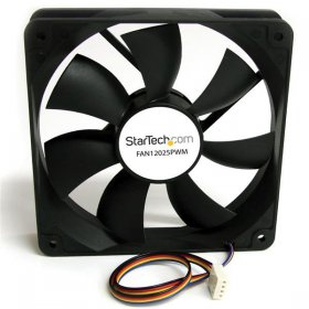 120x25mm Computer Case Fan with PWM – Pulse Width Modulation