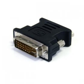 DVI-I to VGA Cable Adapter - Black - M/F
