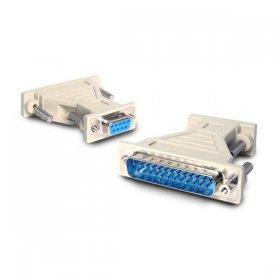 DB9 to DB25 Serial Cable Adapter - F/M