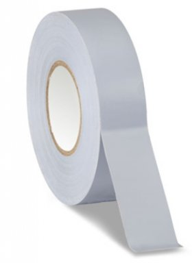 "Gray Electrical Tape 3/4"" x 66Ft 7Mil"