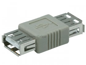 USB 2.0 A Female/A Female Coupler Adapter