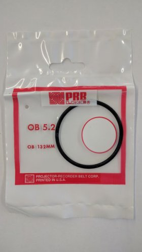 "OB5.2 Round Rubber Belt 5.2"" IC, .103"" Cross Section"