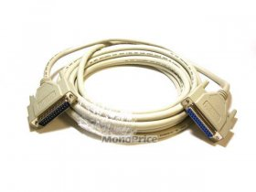 10' IEEE-1284 (DB-25) M/F Cable