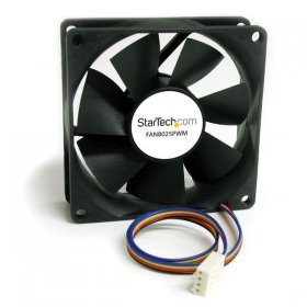 80x25mm Computer Case Fan with PWM – Pulse Width Modulation