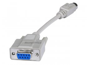 "DB9(F)/MDIN6(F)PS2 6"" Cable Adapter"