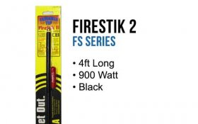 FirestikII 4Ft Tunable Tip CB Antenna (Black)