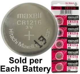 CR1216 Coin Cell Battery 3V Lithium Manganese Dioxide