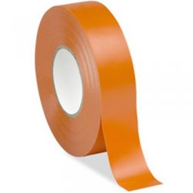 "Orange Electrical Tape 3/4"" x 66Ft 7Mil"