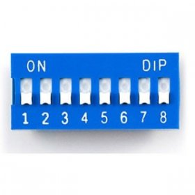 8-Posistion Dip Switch