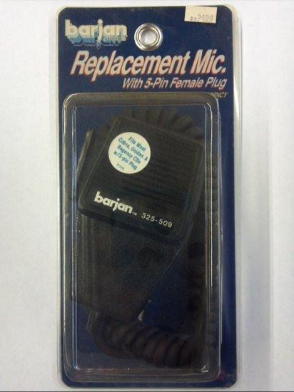 5-Pin Locking Barjan Dynamic Replacement CB Microphone For