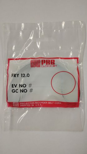 "FRY12.0 Flat Rubber Belt 12.0"" IC, .25"" CS, .045"" Wall Thickness"