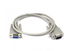 3' DB9 M/F Molded Serial Cable