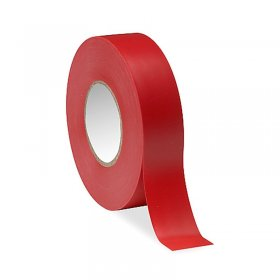 "Red Electrical Tape 3/4"" x 66Ft 7Mil"