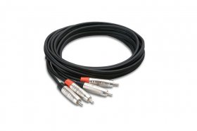 10Ft Pro Stereo Interconnect Dual REAN RCA to Same