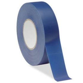 "Blue Electrical Tape 3/4"" x 66Ft 7Mil"