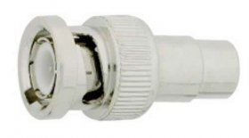 RCA Jack to BNC Plug Adapter