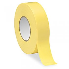 "Yellow Electrical Tape 3/4"" x 66Ft 7Mil"