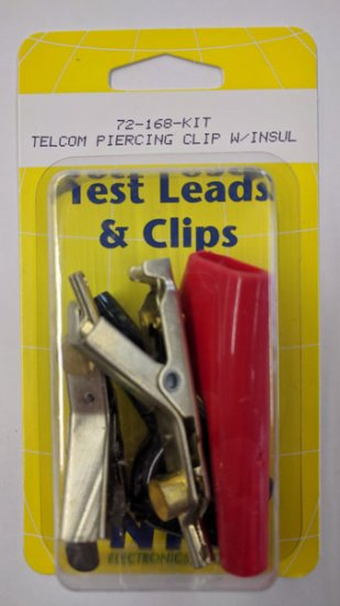 Telecom Clip Kit Bed of Nails & Single Spike Combo 1Red