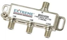 3-Way F Splitter 5-1000MHz Unbalanced 130dB