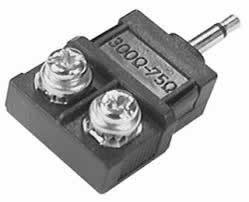 "Balun/Matching Transformer 75-Ohm 1/8"" Plug , 300-Ohm Screws"