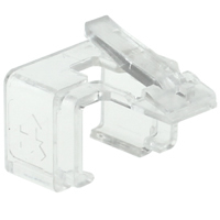 8P8C Quick Snap Latch Replacement (5Pk) Clear