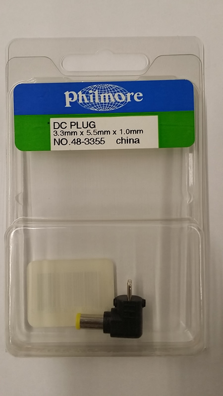 Size D 5.5/3.3/1mm Pin Adaptaplug