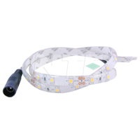 Flexible LED Strip White 19.69In(0.5M)IP65 30(3528)LEDs 12V 2.4W