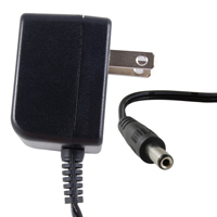 5VDC 2,000mA AC Adapter Regulated 2.1/5.5mm Tip+