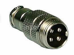 4Pin Inline Male Mobile Mic Connector
