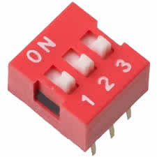 3-Posistion Dip Switch