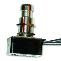 SPST Round Pushbutton Switch On-Off 125V 8A NTE