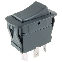 SPDT Waterproof Rocker Switch On-None-Off 16A 125VAC NTE
