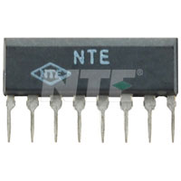 NTE1170 IC, Dual Preamp for Car Radio, 8-Lead SIP