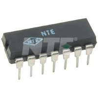 NTE1174 IC, TV Auto Fine Tuning Circuit, 14-Lead Staggered DIP