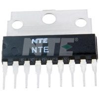 NTE1363 IC, Audio Power Amplifier, 4.2W, 9-Lead SIP